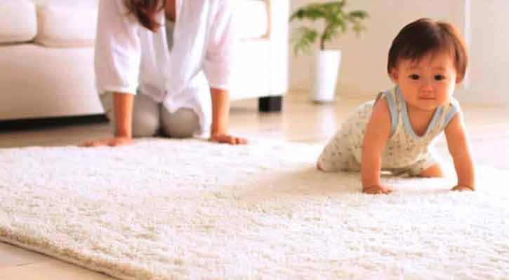 Bebekli Evde Halı Temizliğinin Önemi